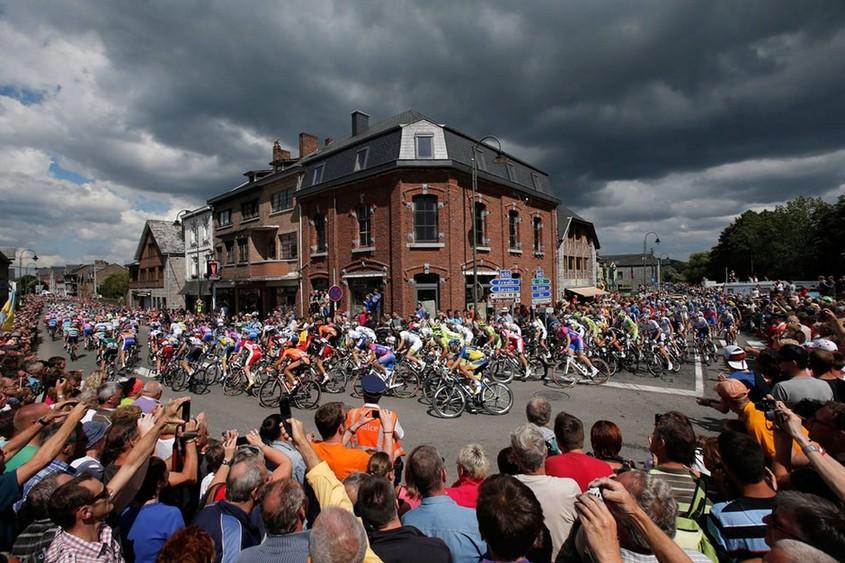 骑行风景:2012环法自行车赛高清纪实