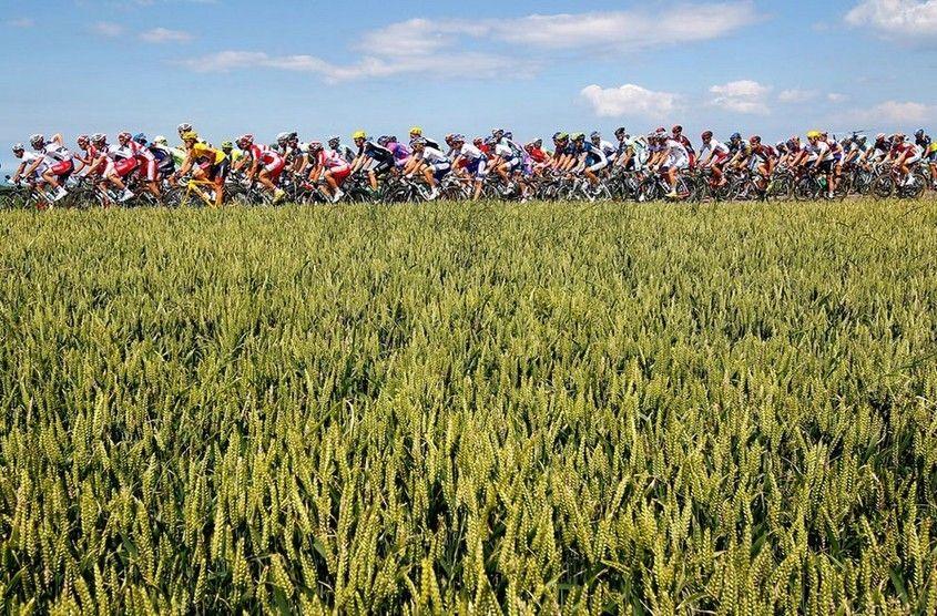 /enpproperty-->   7月1日,第99届环法自行车赛如期开赛,分成22组,每组9名参赛队员,第一站穿越比利时部分地区,第三站到达法国。前五站都是瑞士骑手法比安.坎切拉拉领队,第六站则出现转折,来自天空车队的骑手布拉德利.威金斯超过坎切拉拉,赢得了黄色领骑衫,直至今日。本次环法锦标赛将持续到7月22日,锦标赛下半段将进入阿尔卑斯山,开始折磨人的山路自行车赛段。整个行程约3497公里。下面是一些一些自行车比赛过程中拍摄的图片。  2012环法自行车赛