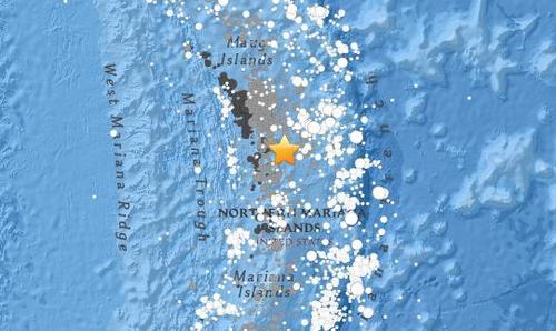 北马来亚纳群岛海域4.6级地震震源深度115.9公里