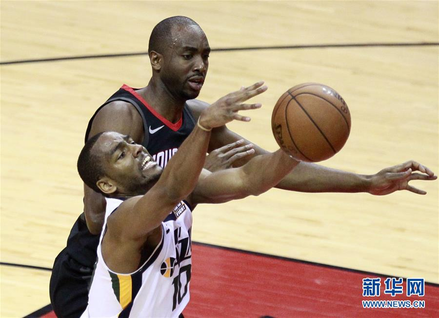 (体育)(4)篮球――NBA季后赛西部半决赛:火箭不敌爵士