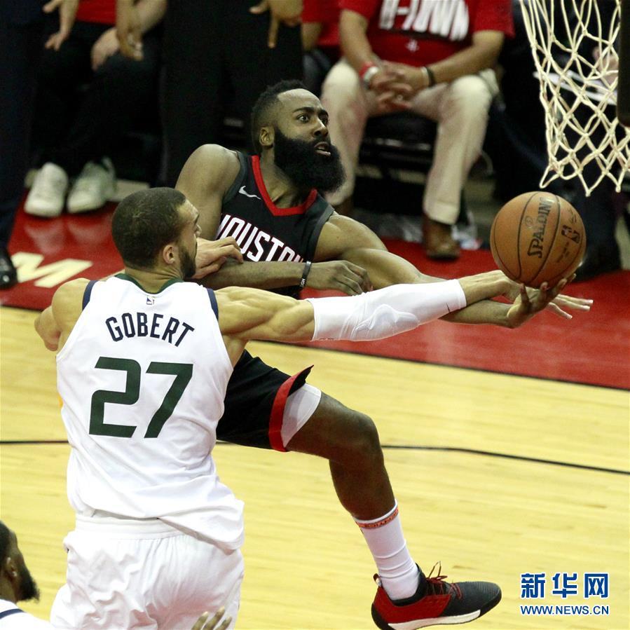 (体育)(5)篮球――NBA季后赛西部半决赛:火箭不敌爵士