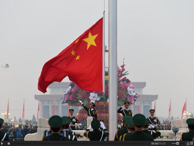 △视频《天安门广场举行隆重的升国旗仪式》