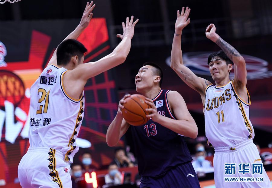 (体育)(1)篮球——CBA复赛第一阶段:时代中国广州胜浙江广厦控股