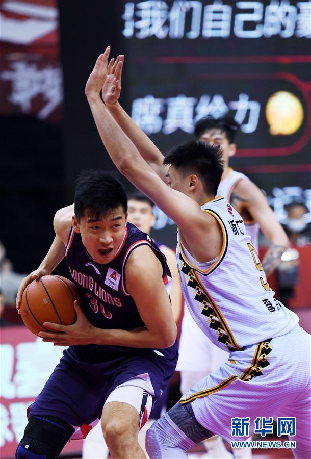 (体育)(8)篮球——CBA复赛第一阶段:时代中国广州胜浙江广厦控股