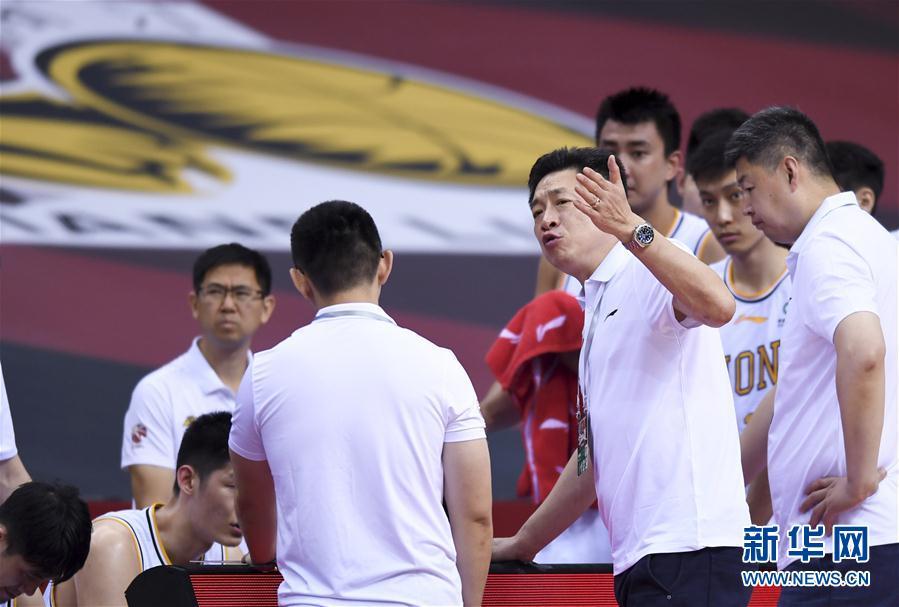 (体育)(10)篮球——CBA复赛第一阶段:时代中国广州胜浙江广厦控股