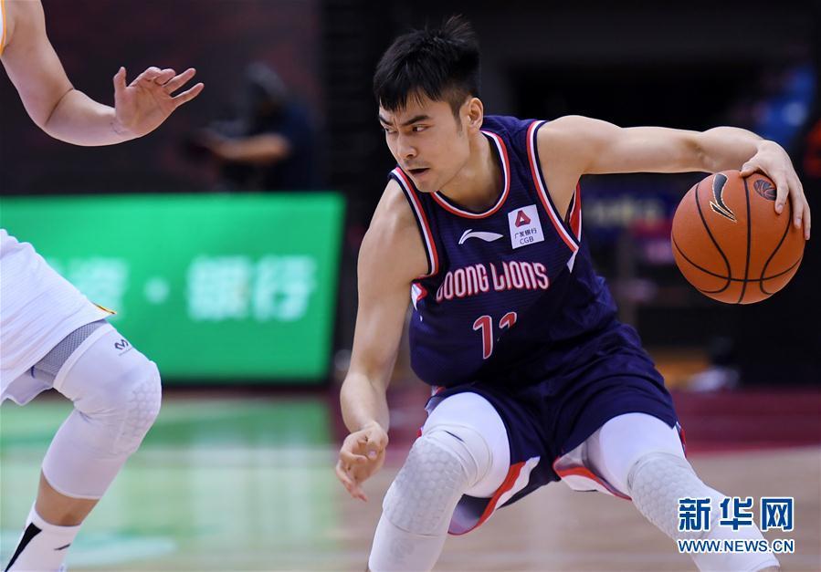 (体育)(4)篮球——CBA复赛第一阶段:时代中国广州胜浙江广厦控股