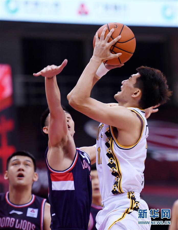 (体育)(7)篮球——CBA复赛第一阶段:时代中国广州胜浙江广厦控股