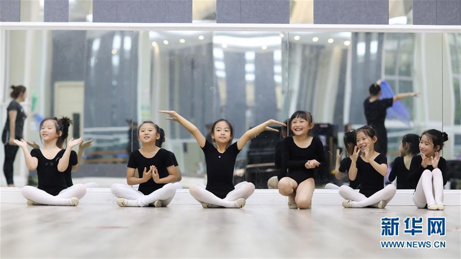 全民健身:校园里的快乐体操课