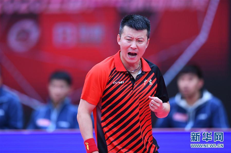全国乒乓球锦标赛:广东队获得男子团体冠军