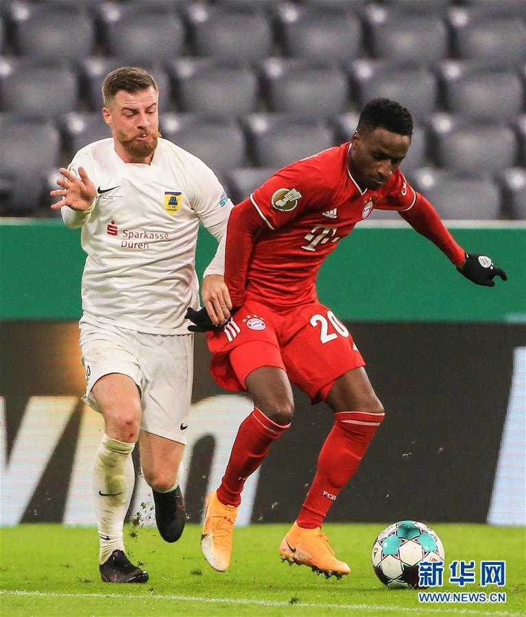 (体育)(4)足球——德国杯:拜仁晋级第二轮