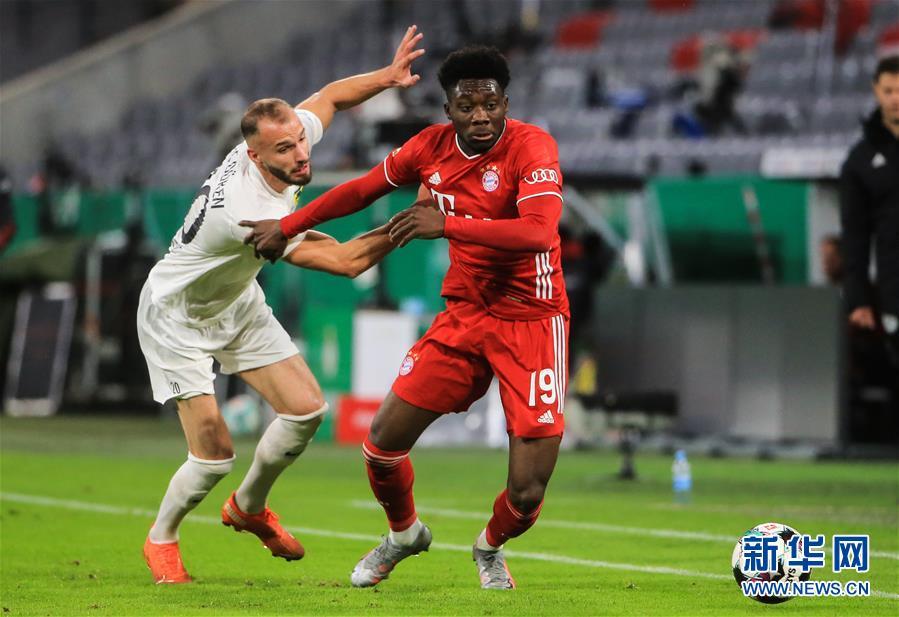 (体育)(5)足球——德国杯:拜仁晋级第二轮