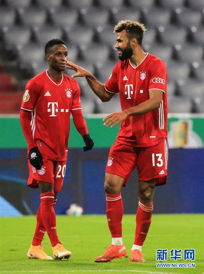 (体育)(1)足球——德国杯:拜仁晋级第二轮