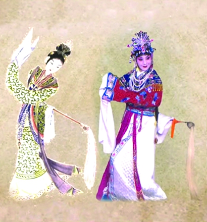 """史依弘与""""上元夫人""""历史性同框"""